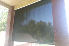Outside Patio Screen Window Shade