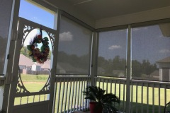 Patio Roller Screen Shades