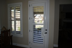 Shutter Door with French Cut-Out for Handle