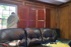 Hunter Douglas NewStyle Faux in Wood Stain Look Finish