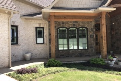 Extended Arch Shutters Inside and Outside View